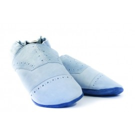Promo taille 42/43 chausson cuir homme