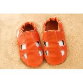 Chaussons été - orange