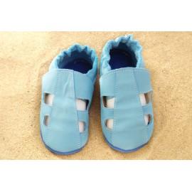 Chaussons été - bleu