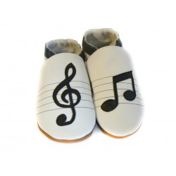 Tendance musicale - chaussons souples