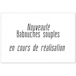 Babouches cuir tannage végétal