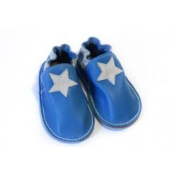 Petite gomme - bleu - étoile beige
