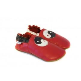 Soft slippers - jin jang - santa claus