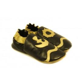 Soft slippers - marino - nero