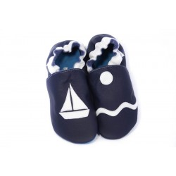 Soft slippers - marine