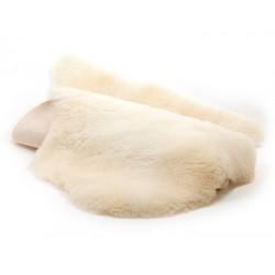 Semelles en peau de mouton lainée