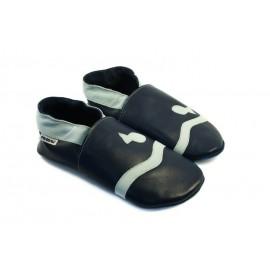 Soft slippers - marine - nero