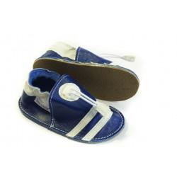 Soft sole shoes - blue marino
