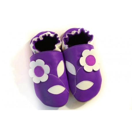 Jolie fleur en violet