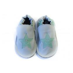 Soft sole shoes - perla - smile vert