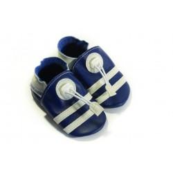 Soft slippers - marine - denim