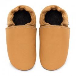 chaussons cuir - savanna