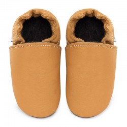 Soft sole slippers - savanna