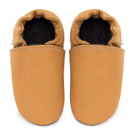 Soft sole slippers - savanna