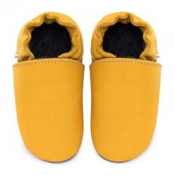 chaussons cuir - girasole