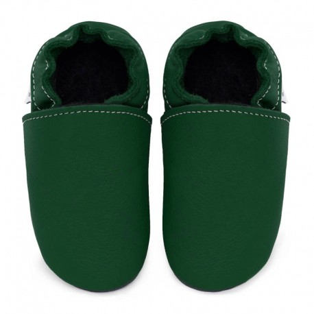 Soft leather slippers - illusion