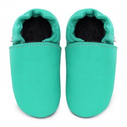 Soft leather slippers - caraibe