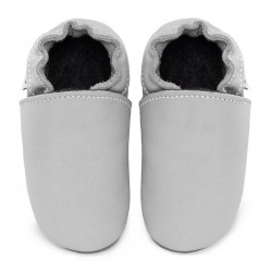 Soft leather slippers - perla