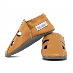 chaussons cuir été - savanna