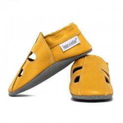 chaussons cuir été - girasole