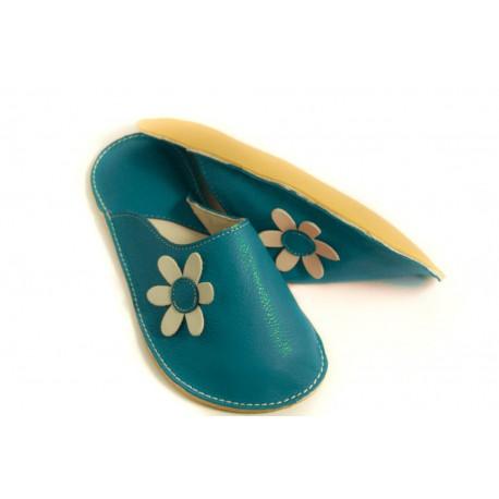 Papuče Bab´s - jeans