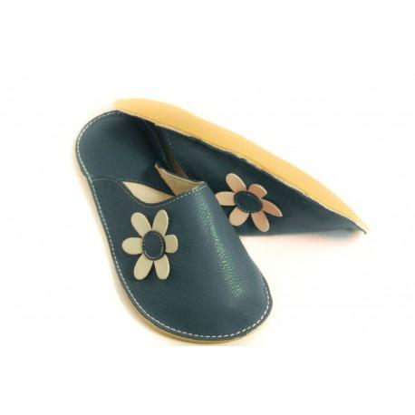 Slippers Bab´s blu marino