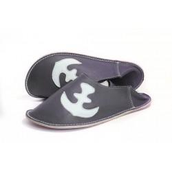 Papuče kotva - nero