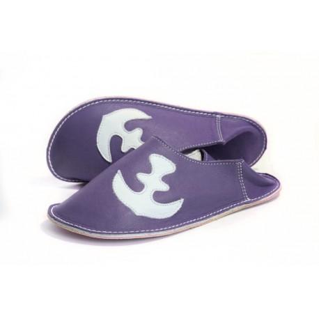Slippers anchor - blu marino