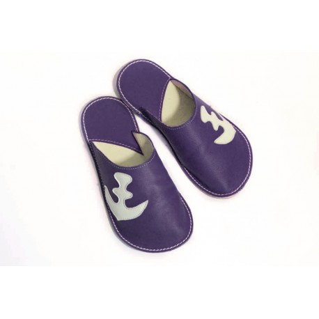 Papuče Bab´s - marine anchor
