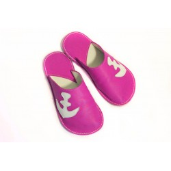 Slippers Bab´s - anchor - fuxia