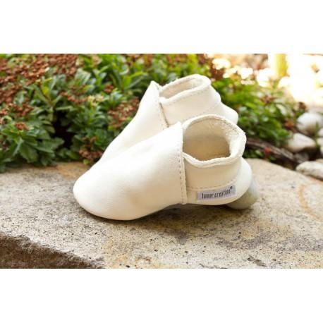 Organic leather slippers - belugaw