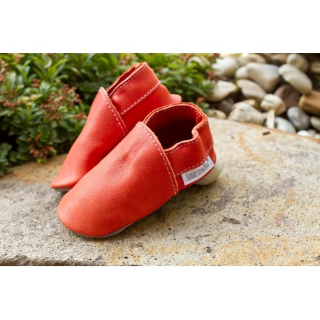 Organic leather slippers - nemo
