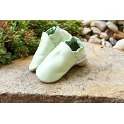 Bio kožené papuče - grasshoper