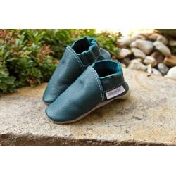 Bio kožené papuče - karibik