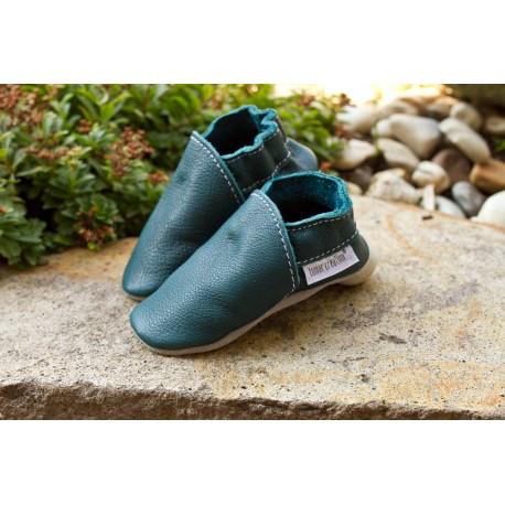 Organic leather slippers - karibik