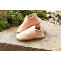 Organic leather slippers - tara