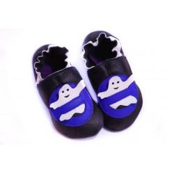 Soft slippers - ghost - denim