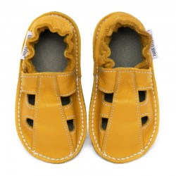 Summer leather shoes - girasole