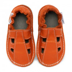 Summer leather shoes - soleil