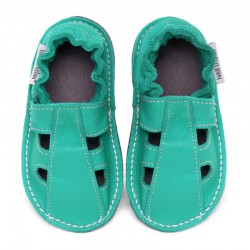 Summer leather shoes - caraibe