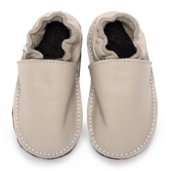 soft sole shoes - cream