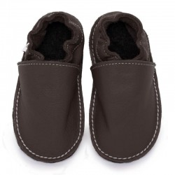 soft sole shoes - taupe