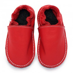 soft sole shoes - santa claus