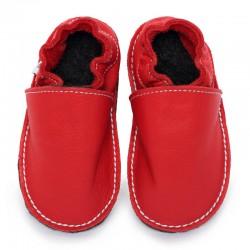 soft sole shoes - santa claus