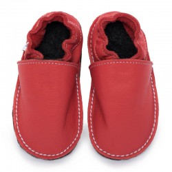 soft sole shoes - rosso fueco