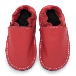 soft sole shoes - rosso fueco
