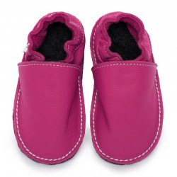 soft sole shoes - fuxia