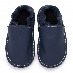 soft sole shoes - blu marino