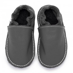 soft sole shoes - fog