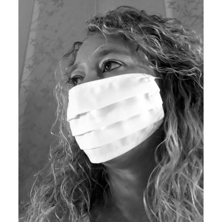 Masque de protection blanc
